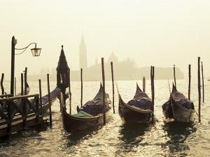 View Across Lagoon Towards San Giorgio Maggiore, from St. Mark's, Venice, Veneto, Italy by Lee Frost