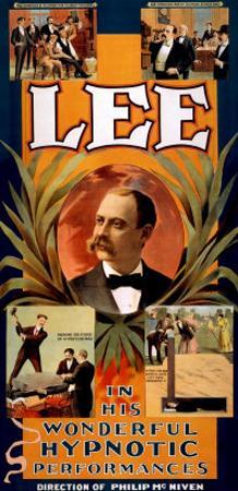 Lee in His Wonderful Hypnotic Performances