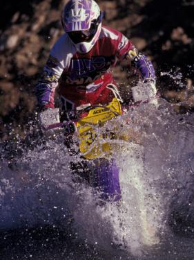 Dirt Biking, Colorado, USA by Lee Kopfler