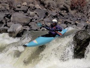 Rio Grande River Kayaking, New Mexico, USA by Lee Kopfler