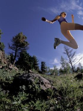 Running, Boulder, Colorado, USA by Lee Kopfler
