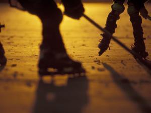 Street Hockey by Lee Kopfler