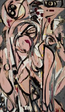 Birth, 1956 by Lee Krasner