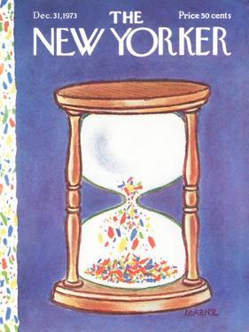 The New Yorker Cover - December 31, 1973 by Lee Lorenz