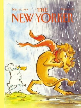 The New Yorker Cover - March 13, 1989 by Lee Lorenz