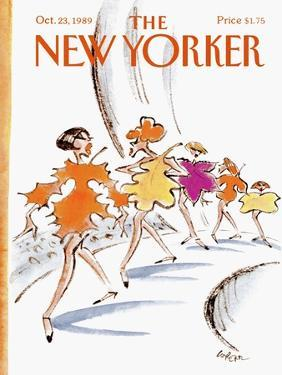 The New Yorker Cover - October 23, 1989 by Lee Lorenz