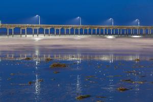 Evening Pier I by Lee Peterson