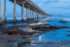 Evening Pier II by Lee Peterson