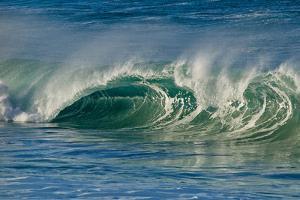 Ocean Waves I by Lee Peterson