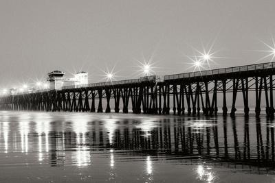 Pier Night Panorama I