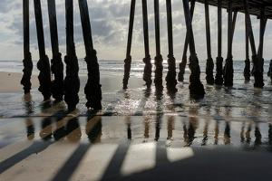 Pier Silhouette I by Lee Peterson