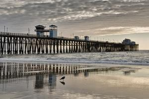 Pier Sunset 2 by Lee Peterson