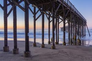 San Simeon Pier II by Lee Peterson