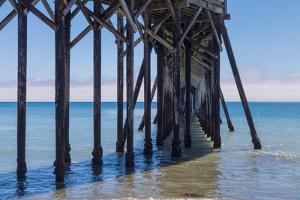 San Simeon Pier III by Lee Peterson