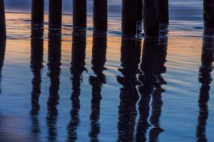 Ventura Pier Reflections I by Lee Peterson