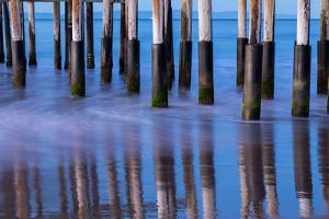 Ventura Pier Reflections II by Lee Peterson