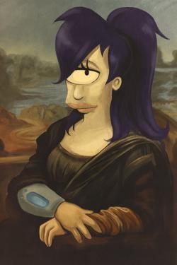 Leela As The Mona Lisa