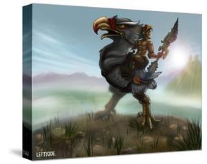 Eagle Warrior by Lefty Joe