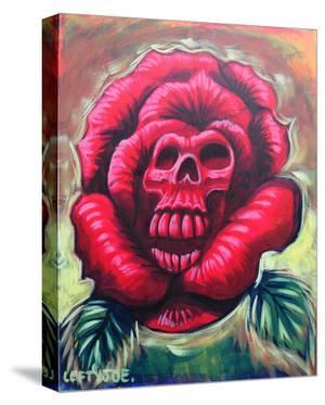 Rose Skull by Lefty Joe