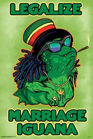 Legalize Marriage Iguana