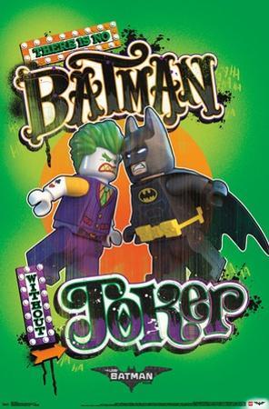 Lego Batman- Faceoff