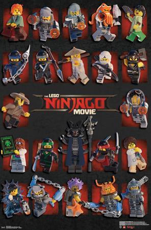 Lego Ninjago - Grid