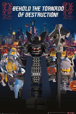 Lego Ninjago Movie - Garmadon Destruction