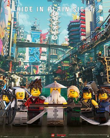 Lego Ninjago Movie - Hide In Plain Sight