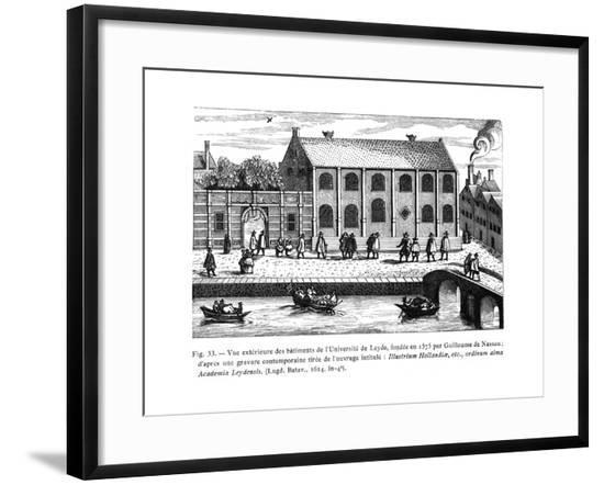 Leiden, University, 17th--Framed Giclee Print
