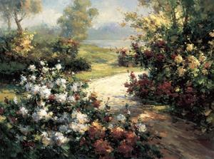 Pathway of Flowers by Leila
