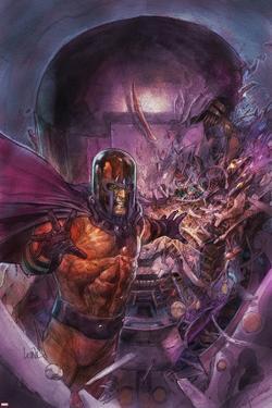 X-Men Legacy No.239 Cover: Magneto by Leinil Francis Yu