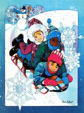 Winter Fun - Jack & Jill by Len Ebert
