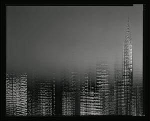 Chrysler Building Motion Landscape #2 by Len Prince