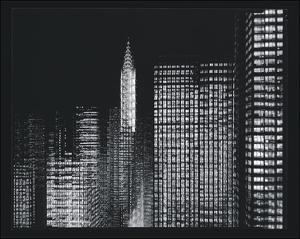 Chrysler Building Motion Landscape #3 by Len Prince