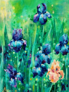 Irises 1 by Lena Navarro
