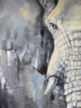 Majestic Pachyderm 1 by Lena Navarro