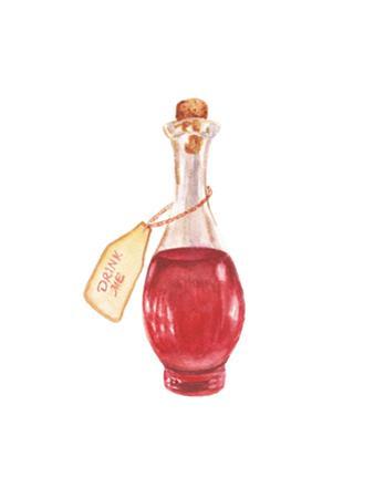 Watercolor Magic Bottle by lenavetka87