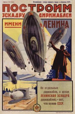 Lenin with Dirigibles