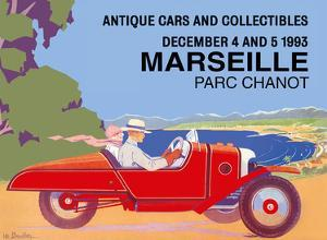 Marseille, France - Antique Cars and Collectibles - Le Parc Chanot Center - Cyclecar Morgan by Léo Bouillon