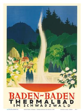 Baden-Baden, Germany - Thermal Baths (Thermalbad) - Black Forest (Schwarzwald) by Leo Faller
