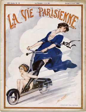 Scooter of the 1920S by Leo Fontan
