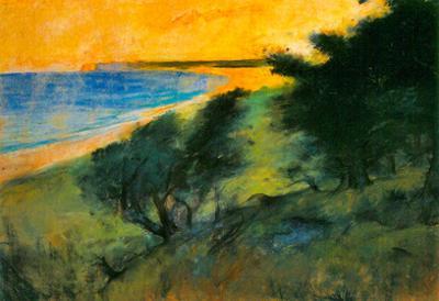 Leo Lesser Ury Coast of Rugen Art Print Poster