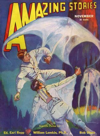 A Giant Amoeba by Leo Morey