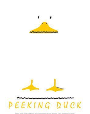 Peeking Duck by Leo Posillico
