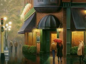 Rainy Day Pub by Leo Stans