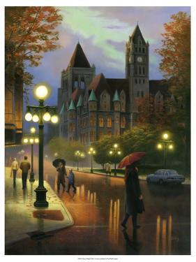 Rainy Twilight by Leo Stans