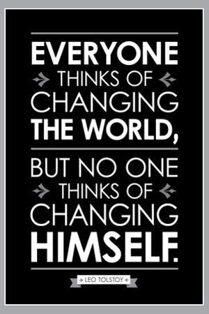 Leo Tolstoy Changing The World Quote