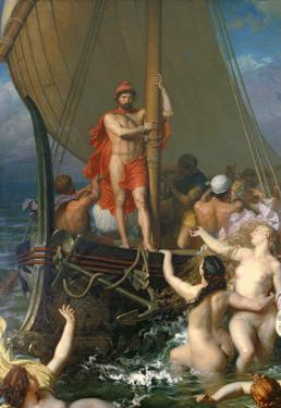 Ulysses and the Sirens by Leon-Auguste-Adolphe Belly