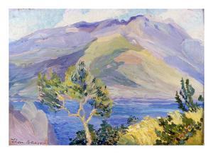 Capri, 1907 by Leon Bakst