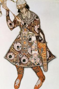 Costume Design for a Ballet by Igor Stravinsky, 1913 by Leon Bakst